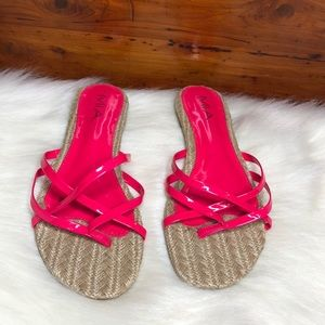 Gorgeous MIA Hot Pink Sandals 10
